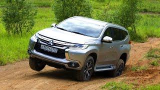 Тест нового Mitsubishi Pajero Sport