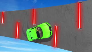LASERS On A WALLRIDE = BAD IDEA! (GTA 5 Funny Moments)