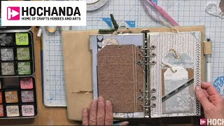Learn How To Create Your Own Planner With Elizabeth Craft Designs At Hochanda.com