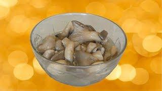 Маринованные грибы (вешенки) по быстрому. Видео рецепт.