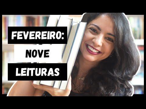 AS NOVE LEITURAS DE FEVEREIRO   LEITURAS DO MÊS   MINHA VIDA LITERÁRIA