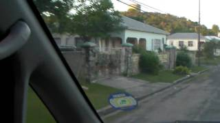 preview picture of video 'Antigua - Driving Through Five Islands Village'