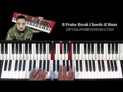 B Praise Break Chords & Runs