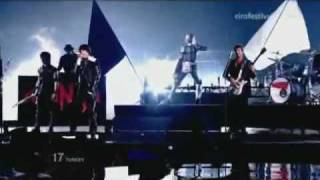 Eurovision Song Contest 2010 - Halbfinale - Türkei; maNga mit 'We could be the same'