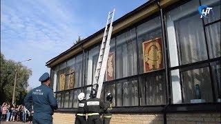 В колледже искусств имени Рахманинова в Великом Новгороде сработала пожарная сигнализация