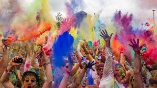 Холи - Фестиваль красок в Казани