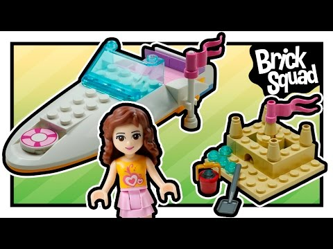 Vidéo LEGO Friends 3937 : Le hors-bord d'Olivia