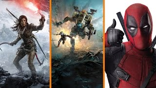 New Tomb Raider LEAKED? + Titanfall 2 Launch Flops + Deadpool Director Joins Sonic Movie - The Know