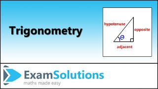 Trigonometry - Right Angled Triangles - Naming The Sides | ExamSolutions