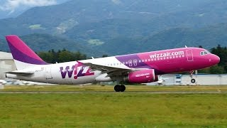 preview picture of video 'HA-LPT Wizz Air Airbus A320 at Ljubljana Brnik Airport [LJU/LJLJ]'