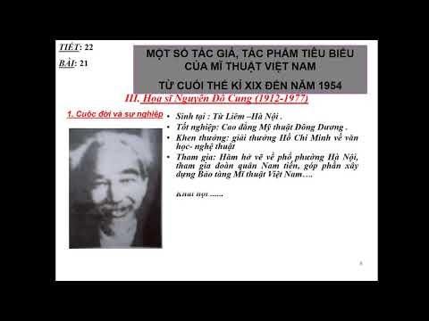 MĨ THUẬT 7: MỘT SỐ TÁC GIẢ TÁC PHẨM TIÊU BIỂU CỦA MT VIỆT NAM TỪ CUỐI THẾ KỈ XIX ĐẾN NĂM 1954