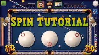 8 Ball Pool - Spin Tutorial   How To Use Spin in 8 Ball Pool (No Hacks/Cheats)