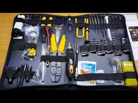 Kit Herramientas Reparacion de PC Nisuta (91 Piezas)   K8920