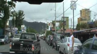 preview picture of video 'Driving in Costa Rica - San Jose to Jaco'