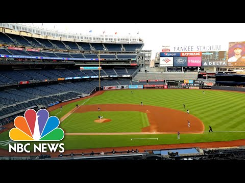 New York Announces Expanded Capacity At Outdoor Venues | NBC Nightly News