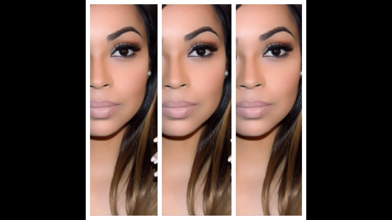 Nude makeup for black women apologise