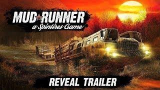 SpinTires MudRunner - Lái xe tải chở gỗ đi lội bùn trong rừng | ND Gaming