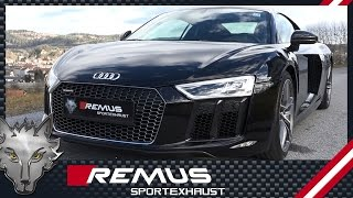 Video: Remus Sportauspuff für Audi R8 V10 Plus ab 2015