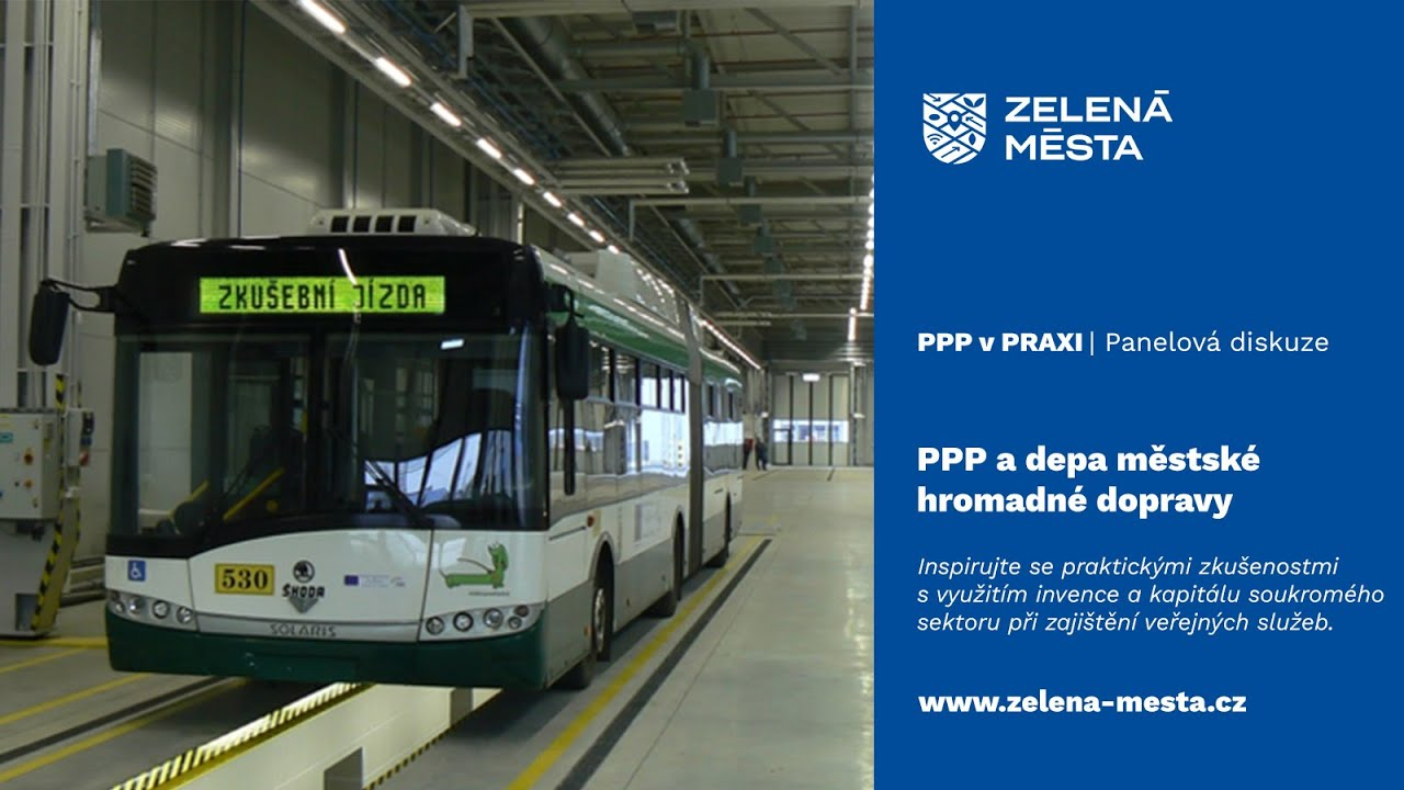 PPP v praxi: PPP a depa městské hromadné dopravy
