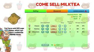 Come Sell Milktea (Unity3D)
