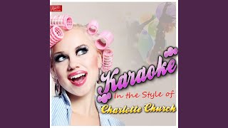 Moodswings (To Come At Me Like That) (Mood Swings) (In the Style of Charlotte Church) (Karaoke...
