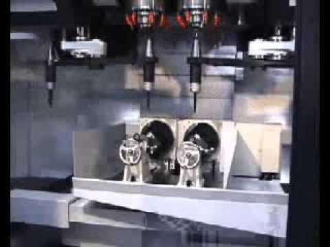 OKK MCV-560DS Heavy Duty 5 Axis Dual Spindle Vertical Machining Centre