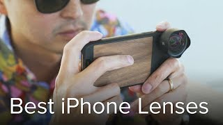Best iPhone Lenses: Moment, Sandmarc, Olloclip, RhinoShield, and others tested