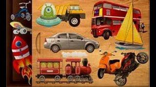 Let's Play • 384 Układanka dla dzieci • po Polsku, Nauka pojazdów, Auta, bajka, Gry dla dzieci