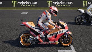 MotoGP 18 - Honda RC213V - Test Drive Gameplay (PC HD) [1080p60FPS]