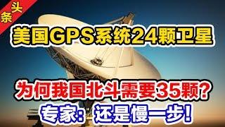 美GPS系统24颗卫星,为何我国北斗需要35颗?专家:还是慢一步!