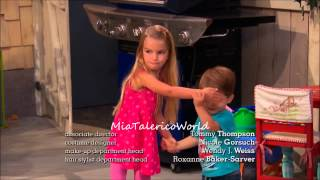 Mia Talerico and Logan Moreau 'Good Luck Charlie' Blooper