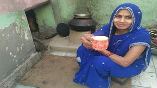 INDIAN MORNING ROUTINE TEA   DAILY INDIAN KITCHEN ROUTINE  VILLAGE BREAKFAST MORNING ROUTINE