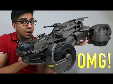 UNBOXING & LETS PLAY! – Ultimate Justice League BATMOBILE  – 1/10 RC movie car – FULL REVIEW!