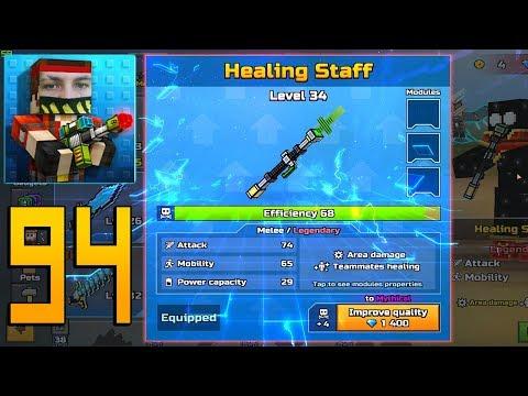 Pixel Gun 3D - Gameplay Walkthrough Part 94 - Healing Staff