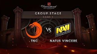 Navi vs TNC - Game 1 - The International 6 : Group Stage