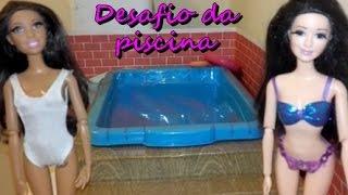 NOVELINHA DA BARBIE EP. 3 - DESAFIO DA PISCINA