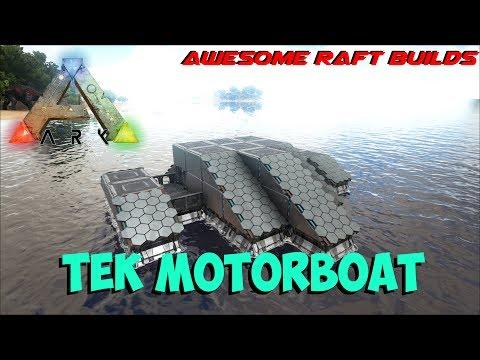 Ark Patch258: Motorboat & Harpoon Launcher - смотреть онлайн
