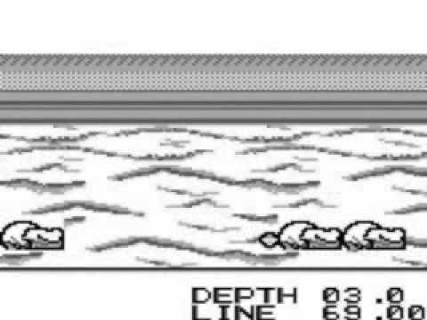 The Black Bass : Lure Fishing Game Boy
