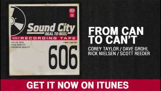From Can To Can't - Taylor. Grohl. Nielsen. Reeder.