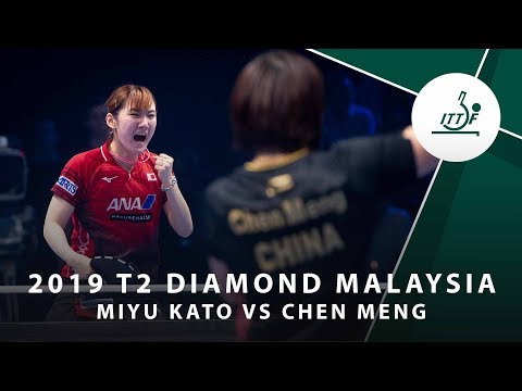 Miyu Kato vs Chen Meng | T2 Diamond Malaysia (QF)