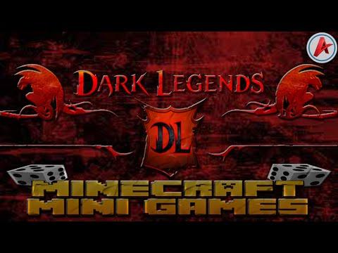 [MineCraft] Pozvánka na server Dark Legends   Annihilation, BedWars   [1.7.9, 1.7.10, 1.8] (CZ,HD)