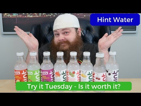 Hint Water - Try it Tuesday - Is it worth it? - Taste Test