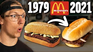 Recreating McDonald's Steak Sandwich From 40 YEARS AGO!