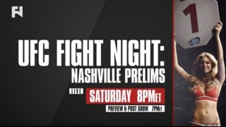 UFC Fight Night Nashville Prelims, Pre & Post-Show LIVE Sat., April 22 at 7 p.m. ET on FN
