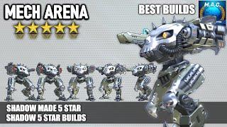 Mech Arena - Shadow 5 star + Best Builds