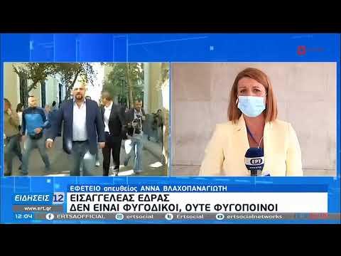 Δίκη Χρυσής Αυγής: Αναστολή για όλους εκτός Ρουπακιά η πρόταση της εισαγγελέως   19/10/20   ΕΡΤ