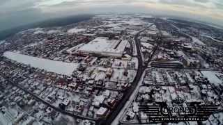 preview picture of video '2015-02-04 Tychy zimą - Liceum Norwid Stare Tychy HD'