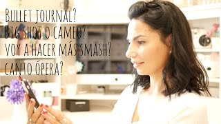 Q&A: Bullet journal? Más Smash book? Big Shot o Cameo? #preguntaaelena
