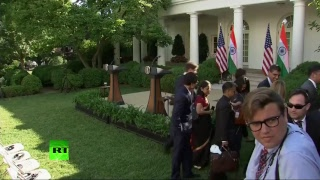 LIVE: Trump and Modi give joint statement upon PM's White House visit