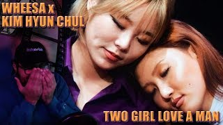 Wheein x Hwasa x Kim Hyun Chul - Two Girl Love A Man  LIVE REACTION!!!   Their Harmonies Are Life